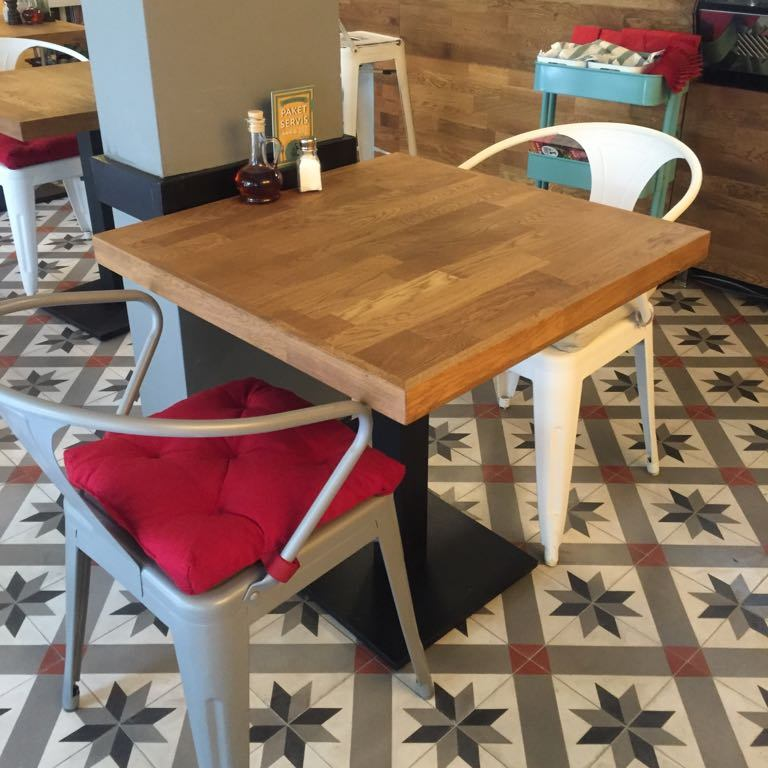 Oak Cafe Table