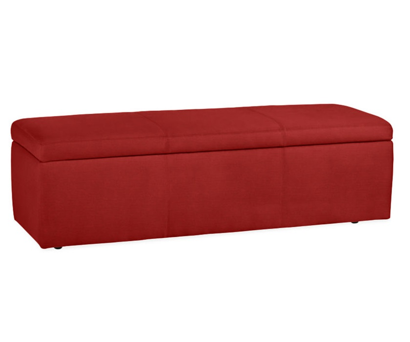 Folk Bench Red