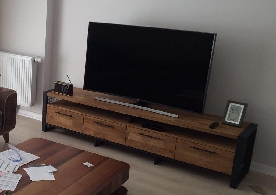 ah ap atolyesi manhattan tv sehpas 160 cm. Black Bedroom Furniture Sets. Home Design Ideas